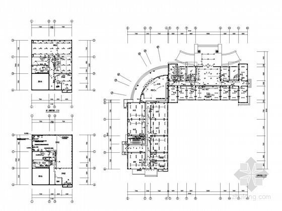 [云南]标准化厂房全套电气施工图纸(含食堂)