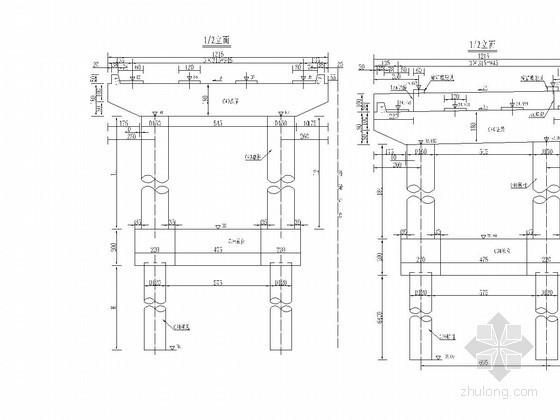 高架桥盖梁施工方案36页(贝雷片支架)