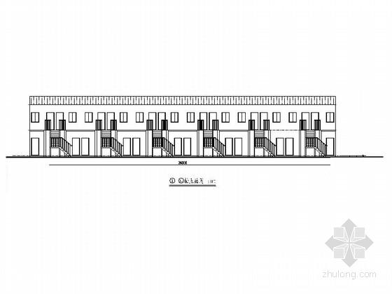 [安徽]二层板房安置区建筑施工图(含公厕 2015年图纸)
