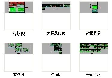 [北京]现代国际化综合金融服务机构支行精装修施工图 资料图纸总缩略图