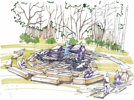 [长沙]水上乐园生态滨水岛屿景观设计方案(知名设计)