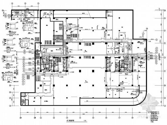 超齐全高档写字楼给排水全套施工图(含10套水系统)