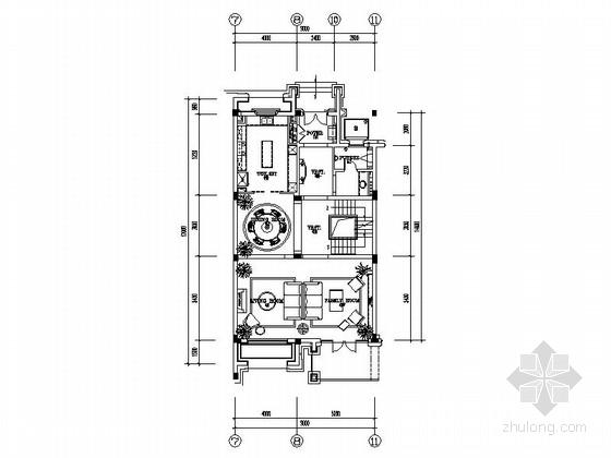 [浙江]豪华时尚传统意大利风格三层别墅室内装修施工图(含完整方案)