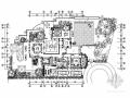 [上海]欧式复古生态园融景别墅室内装修CAD施工图(含效果)
