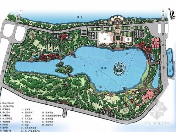 [武汉]湖滨文化艺术公园景观设计方案