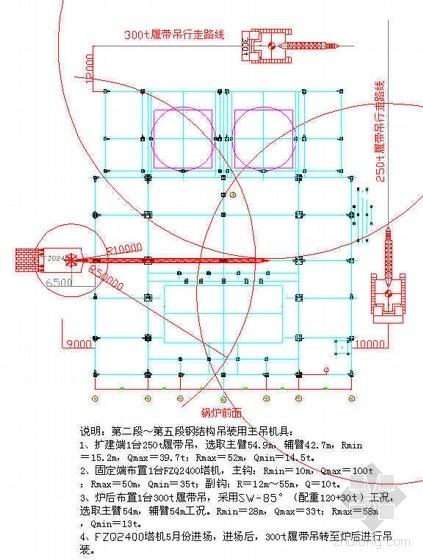 江苏某电厂2×1000MW机组工程锅炉钢结构安装作业指导书(附图表)