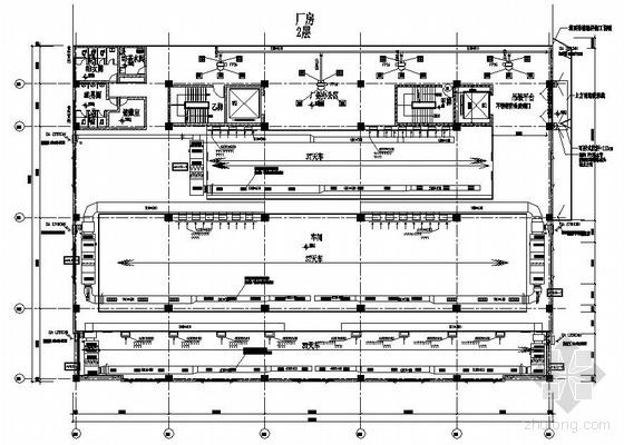 某厂房空调图纸资料下载-昆山某厂房空调图纸