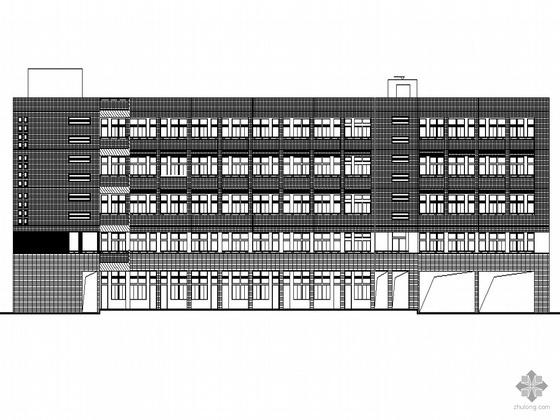 [西樵]某旅游度假区初级中学建筑施工套图(带效果图及节能设计专篇)