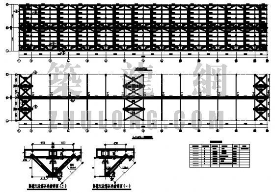 某机修车间结构设计图纸