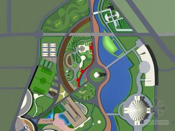 [济南]主题公园景观设计方案