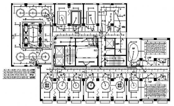 某星级宾馆旧楼改造项目电气套图
