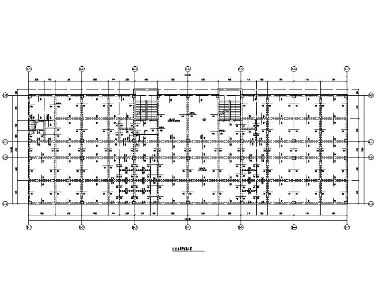 [四川]幼儿园框架结构教学楼及综合楼施工图(建筑结构)
