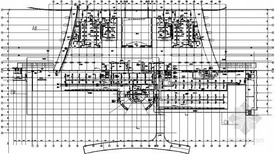 [济南]广场地下室暖通设计施工图