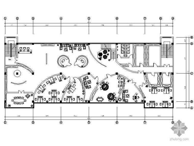 [毕业设计]办公环境设计图(含效果)