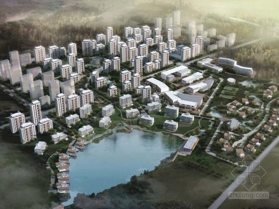 [天津]住宅区规划及单体设计方案文本(国外知名建筑事务所)