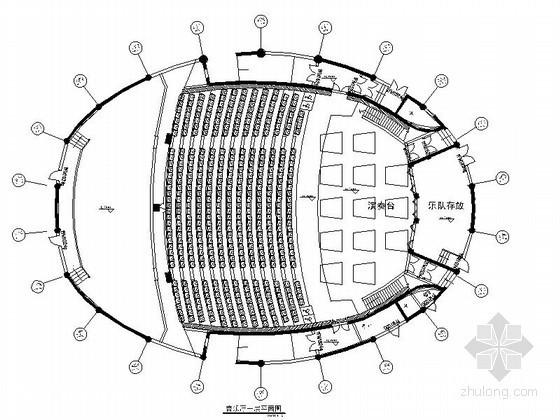 椭圆艺术音乐厅装修图