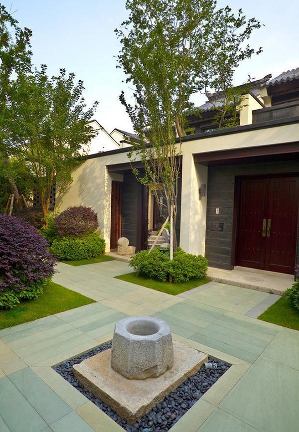 别墅庭院绿化有讲究,你做对了么?