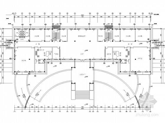 [河北]多层办公楼暖通采暖系统设计施工图