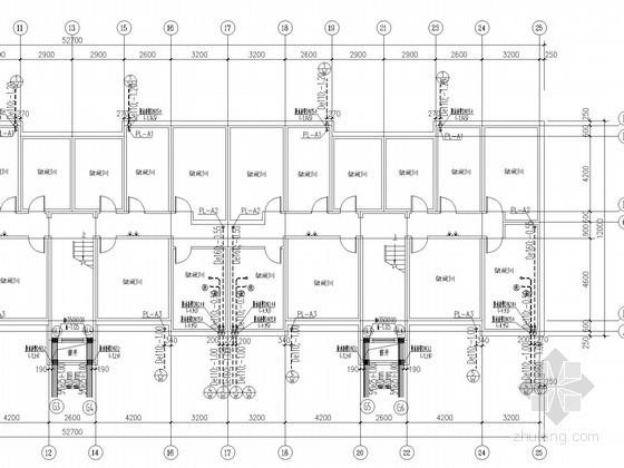 [河北]多层住宅楼给排水及消防施工图(热水系统)