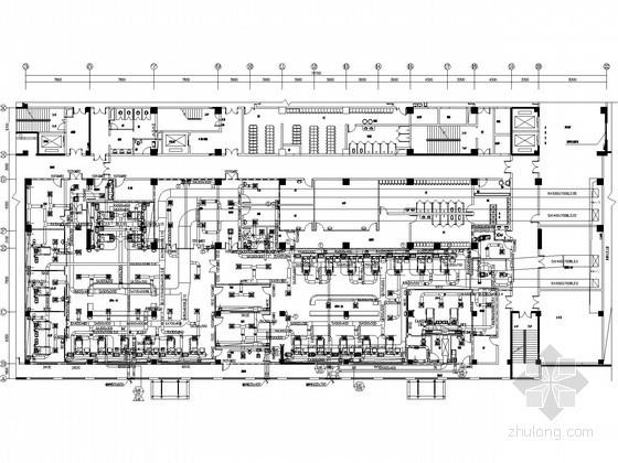 ICU净化系统资料下载-[山东]医院手术部净化工程设计图纸(大样图多)