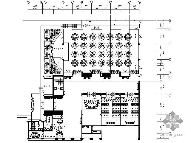五星酒店宴会厅及会议厅施工图