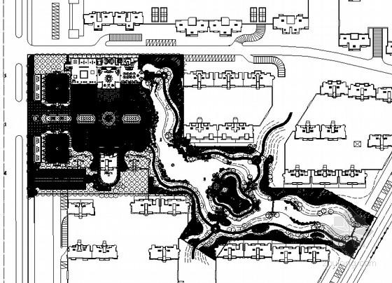 [山东]住宅区园林景观工程全套施工图