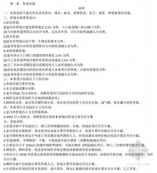 2012年河北省安装定额(第八册)