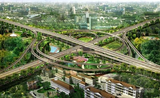 城市道路立体交叉设计方法