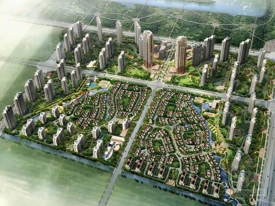 V型住宅平面资料下载-[江苏]artdeco住宅区规划及单体设计方案文本