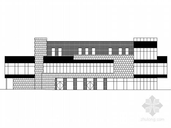 [苏州]某三层工业园区规划C8栋建筑扩初图
