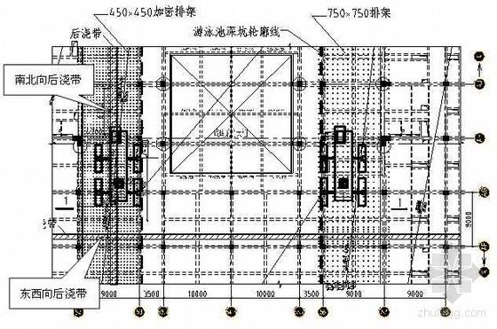 地下室顶板楼板临时加固方案