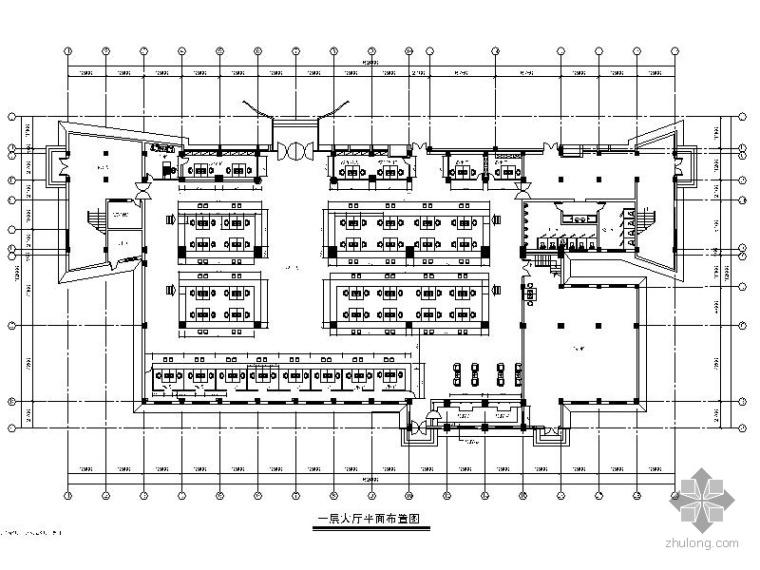 [安徽]某车管所业务办公楼室内装修图