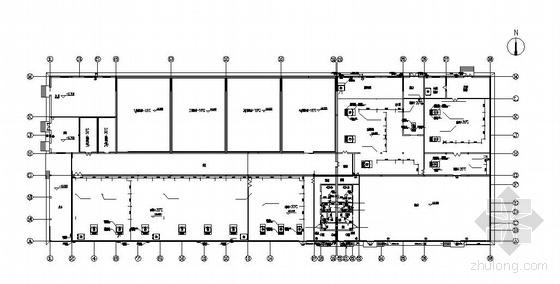 威海某食品车间空调图纸