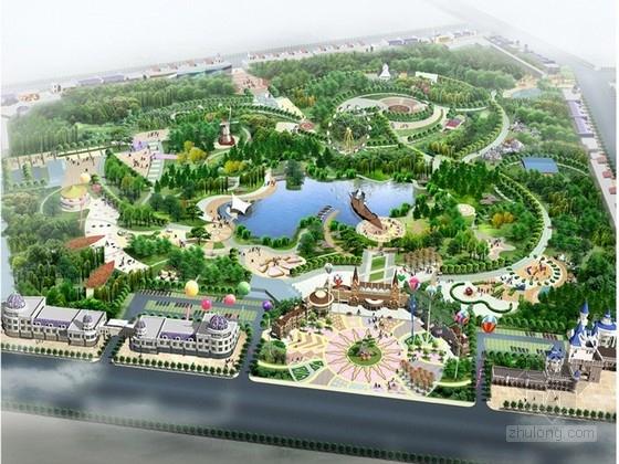 [内蒙古]游乐园场地景观规划设计方案