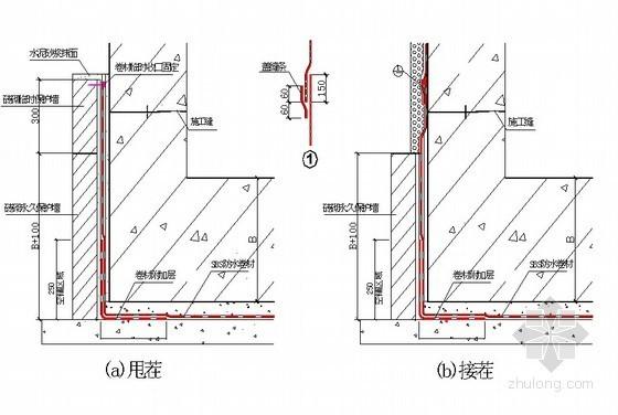 [北京]少年宫地下室防水施工方案(SBS防水卷材 热熔法)