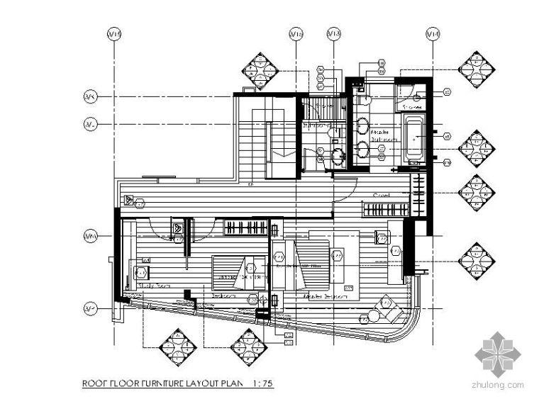 超现代二室二厅装修图(含实景)