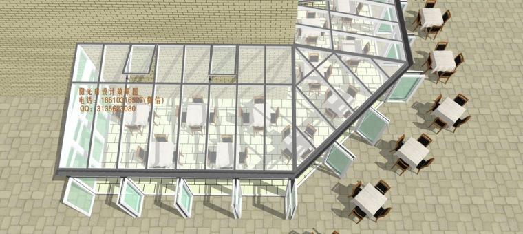 餐厅咖啡厅阳光房设计方案_7