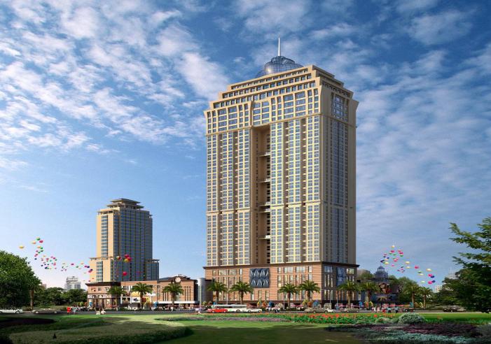 [广东]30层高层框架双筒结构公寓楼文明施工方案(11页,系列)