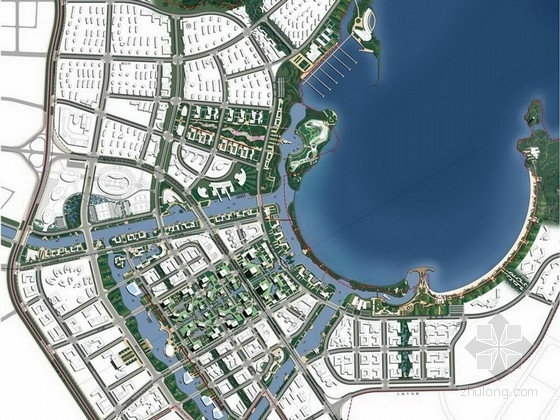 [大连]滨水国际商务区景观概念设计方案