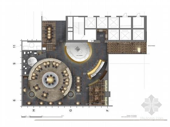 [成都]复古新中式酒店空间设计方案