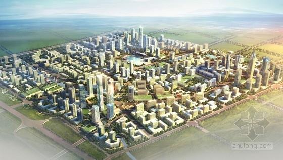 [上海]国际商贸流通中心规划及单体设计方案文本(上海知名院设计)