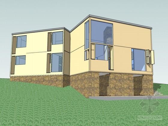 费舍住宅SketchUp模型下载
