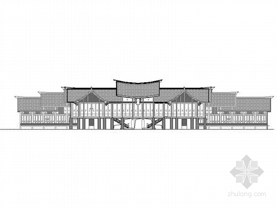 [四川]生态型小镇度假酒店及豪华别墅设计方案图(知名设计院 含效果图)