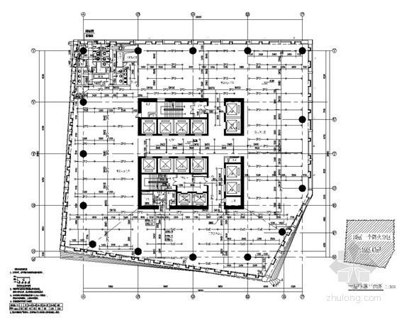 [广东]39层超高层办公楼给排水施工图纸(169米 幕墙雨水系统 直饮水系统)