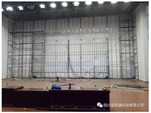 一文尽览LED屏安装工程的施工组成!