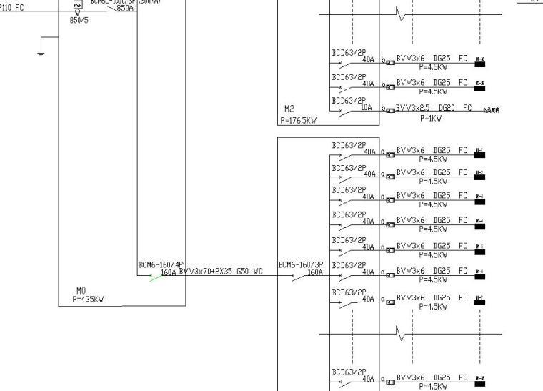 某花园别墅电气施工图
