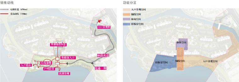 [苏州]正荣盛泽悦棠湾示范区+全区景观方案(新中式风格)B-3功能分区