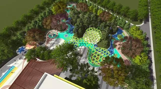 你需要知道的幼儿园景观设计法宝,责任大于天!_34