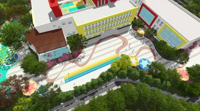 你需要知道的幼儿园景观设计法宝,责任大于天!_33