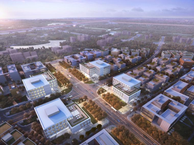 [上海]GMP御河硅谷中心产业园区建筑设计方案文本PDF(全套施工图)